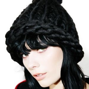 Accessories - Chunky Knit Beanie Hat